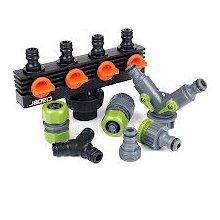 Garten Schnell Kupplungs Wasser Schlauch AnschlüSse,Kunststoff,Stecker und Y5H5