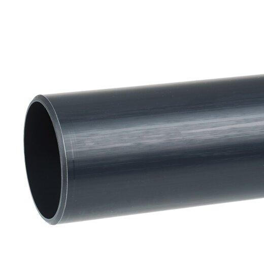 Bekannt PVC Rohr 90 mm PN 10, 1 m TR54
