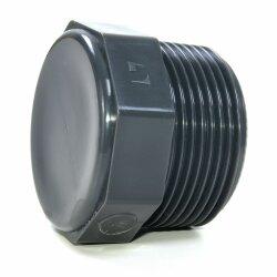 pvc gewindestopfen 4 113 03 mm. Black Bedroom Furniture Sets. Home Design Ideas