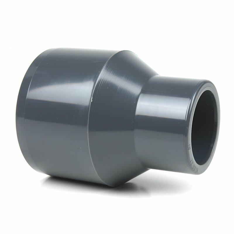 PVC Reduktion 63x32 PN16 Winkel Muffe Klebefitting Bogen Fittings Reduzierung