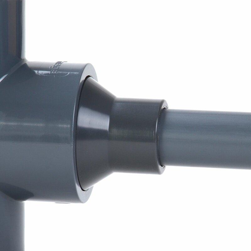 pvc reduziermuffe 50 mm 63 mm reduziert auf 25 mm. Black Bedroom Furniture Sets. Home Design Ideas