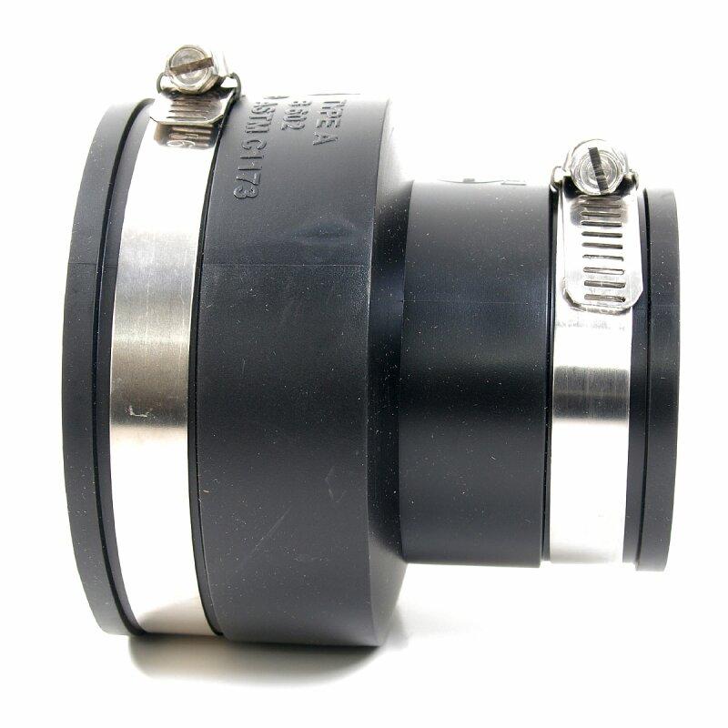 Gummi reduziermuffe 78 85 mm x 55 59 mm for Stahlwandbecken 2 m durchmesser