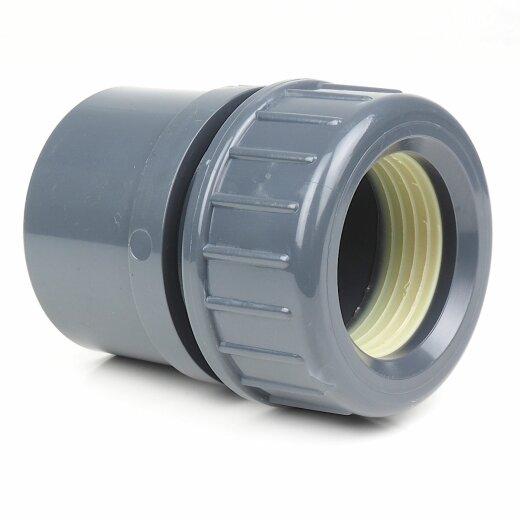 Neu Klemmverschraubung von PVC auf Kunststoff- oder Metallrohre FG77