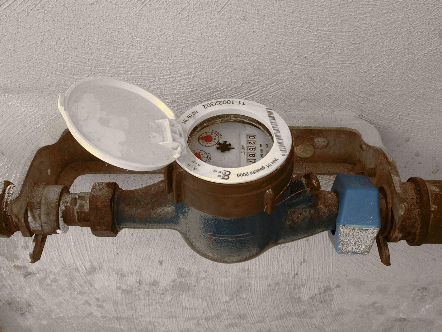 Zusätzlicher Wasserzähler Für Das Gartenwasser Wassertechnik