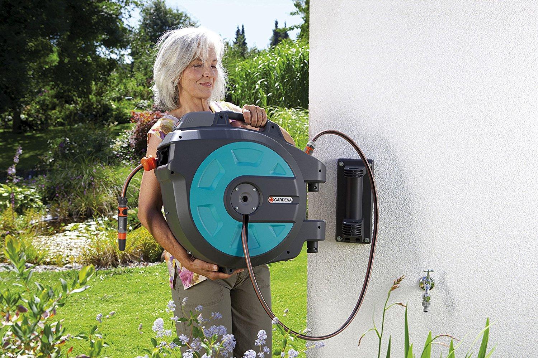 Gardena Wandschlauchbox 35 roll-up Schlauchaufroller automatic,